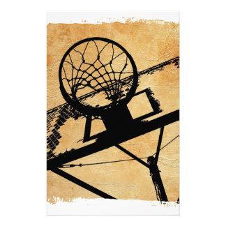 basketball sport pop art stationery
