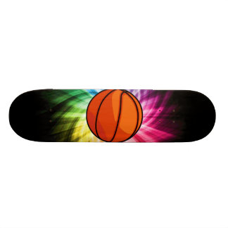 Basketball; Sport; rainbow Skateboard Deck