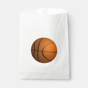 Basketball Sport Theme Favor Bag