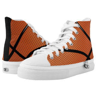 Basketball Sport Themed Printed Shoes