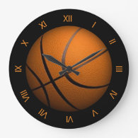 Basketball Sport Wall Clock