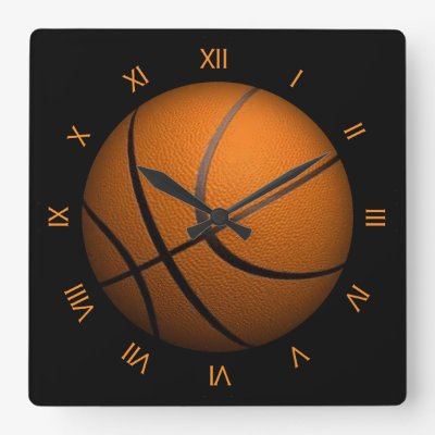 Basketball Sport Wall Clock