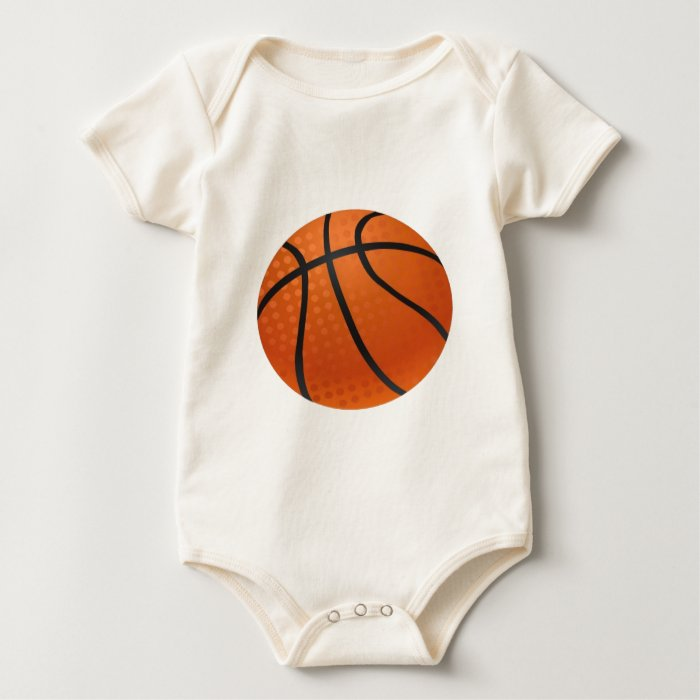 Basketball sports baby bodysuit
