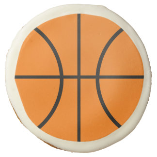 Basketball Sports Birthday Party Cookies Gift