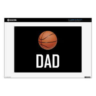 "Basketball Sports Dad 13"" Laptop Decal"