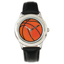 basketball sports design wrist watch