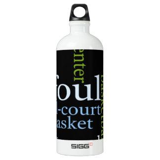 Basketball Sports Fanatic.jpg Aluminum Water Bottle