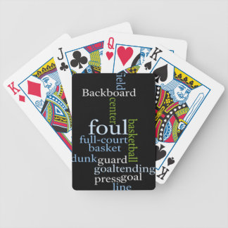 Basketball Sports Fanatic.jpg Bicycle Playing Cards