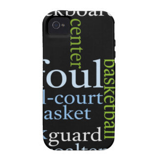 Basketball Sports Fanatic.jpg iPhone 4 Cover