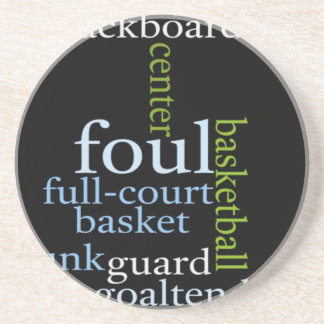 Basketball Sports Fanatic.jpg Beverage Coaster