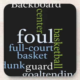 Basketball Sports Fanatic.jpg Drink Coasters