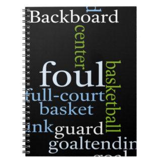 Basketball Sports Fanatic.jpg Notebook