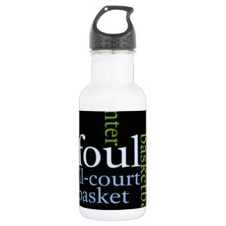 Basketball Sports Fanatic.jpg 18oz Water Bottle