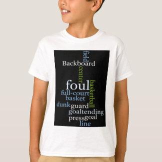 Basketball Sports Fanatic.jpg T-Shirt