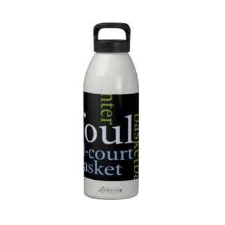 Basketball Sports Fanatic.jpg Reusable Water Bottles