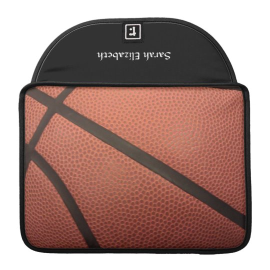 Basketball Sports Image Sleeve For MacBook Pro