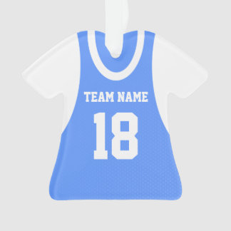 Basketball Sports Jersey with Photo Ornament