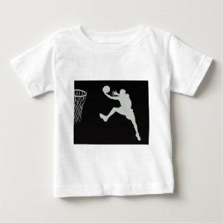 basketball sports jump team game net court t-shirt