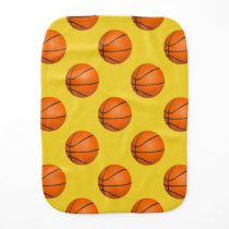 Basketball sports pattern gifts burp cloth