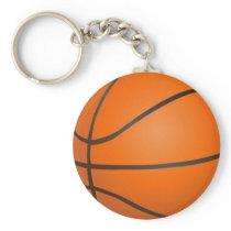 Basketball sports pattern gifts keychain