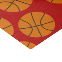Basketball sports pattern party tissue paper