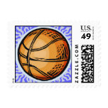 basketball sports  postage stamp