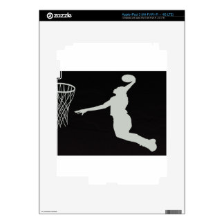basketball sports team court player coach jump skins for iPad 3