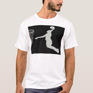 basketball sports team court player coach jump T-Shirt