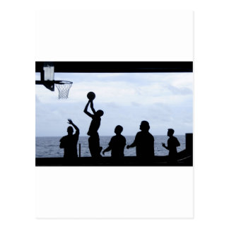 Basketball Sports Team Fun Destiny Gifts Postcard