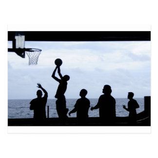 Basketball Sports Team Fun Destiny Gifts Post Cards