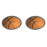 Basketball Sports Theme Cufflinks