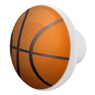 Basketball Sports Theme Ceramic Knob