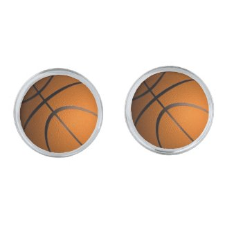 Basketball Sports Theme Cufflinks