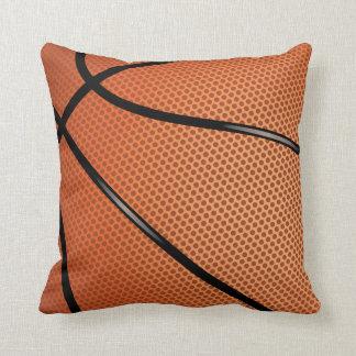 Basketball Sports Themed Throw Pillow