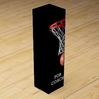 basketball sports wine gift box