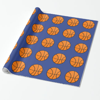 Basketball Sports Wrapping Paper