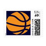 basketball. stamp