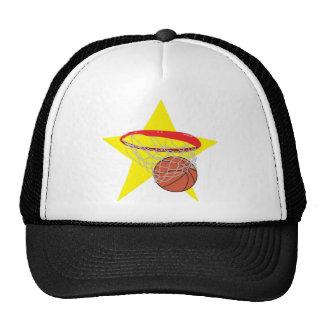 Basketball star!  Customizable: Mesh Hats