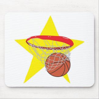 Basketball star!  Customizable: Mouse Pad