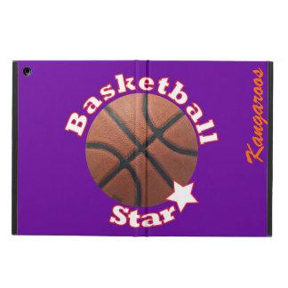 Basketball Star iPad Air Cases