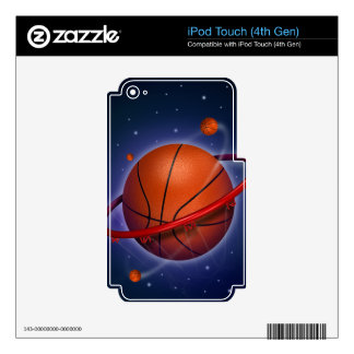 Basketball Star iPod Touch 4th Gen Skin iPod Touch 4G Decals