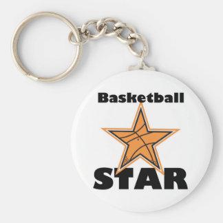 basketball star keychain