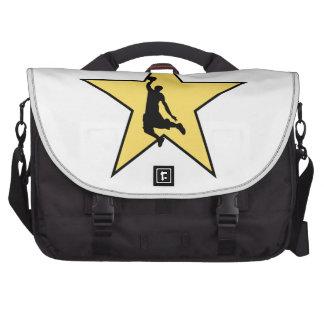 Basketball Star Laptop Bags