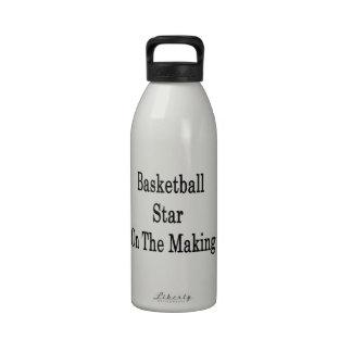 Basketball Star On The Making Drinking Bottles