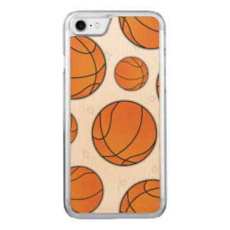 Basketball Star Pattern Carved iPhone 8/7 Case