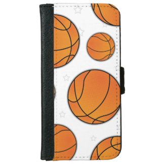 Basketball Star Pattern iPhone 6/6s Wallet Case