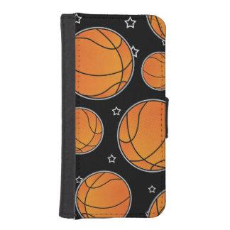 Basketball Star Pattern iPhone SE/5/5s Wallet
