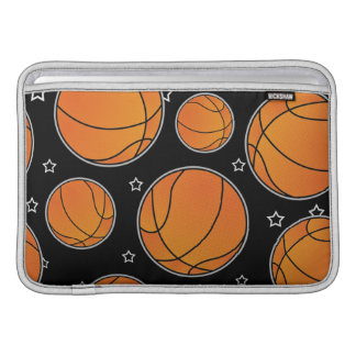 Basketball Star Pattern MacBook Sleeve