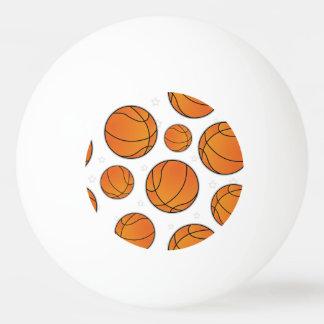 Basketball Star Pattern Ping-Pong Ball