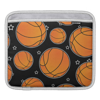 Basketball Star Pattern Sleeve For iPads